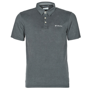 Clothing Men Short-sleeved polo shirts Columbia NELSON POINT POLO Grey