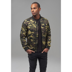 Clothing Men Parkas Urban Classics Parka Urban Classic camo light militaire