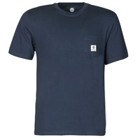 Clothing Men Short-sleeved t-shirts Element BASIC POCKT LABEL SS Marine