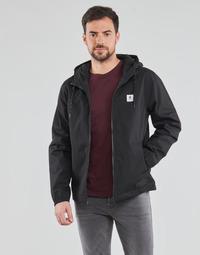Clothing Men Jackets Element ALDER LIGHT Black