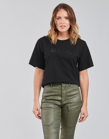 G-Star Raw BOXY FIT RAW EMBROIDERY TEE