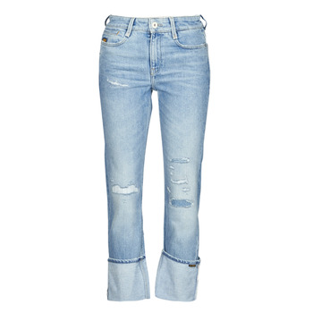 Clothing Women Straight jeans G-Star Raw NOXER HIGH STRAIGHT WMN Blue