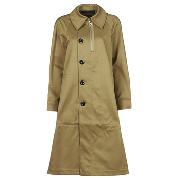 Clothing Women Trench coats G-Star Raw TRENCH WMN Beige