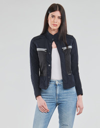 Clothing Women Jackets G-Star Raw SLIM OVERSHIRT WMN Blue