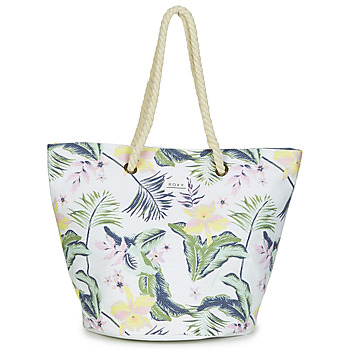 Bags Women Shopping Bags / Baskets Roxy SUNSEEKER White