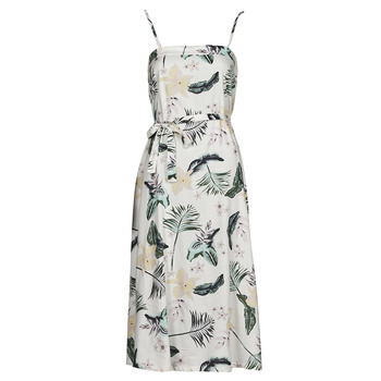 Clothing Women Long Dresses Roxy NOWHERE TO HIDE White