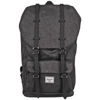 Bags Rucksacks Herschel Little America Black, Graphite