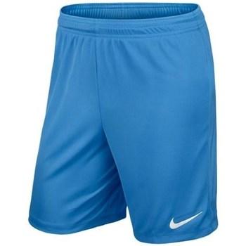 Clothing Boy Shorts / Bermudas Nike Park II Knit Junior Blue