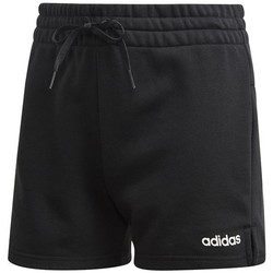 Clothing Women Shorts / Bermudas adidas Originals Essentials Solid Black