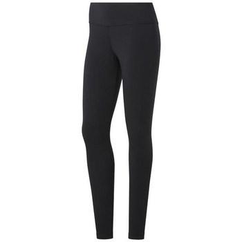 Clothing Women Leggings Reebok Sport TE Cotton Legging Black