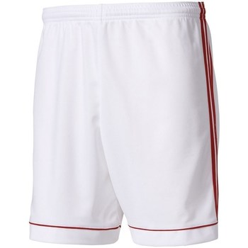 Clothing Men Shorts / Bermudas adidas Originals Short Squadra 17 Kids White
