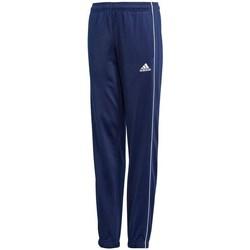 Clothing Children Tracksuit bottoms adidas Originals CORE18 Pes Pnt Y Navy blue