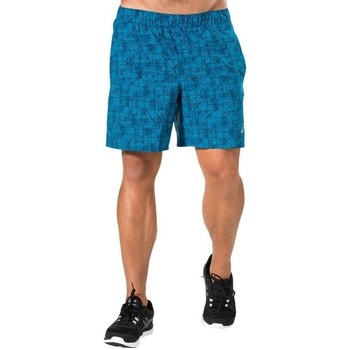 Clothing Men Shorts / Bermudas Asics 7IN Woven Blue