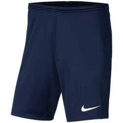 Clothing Boy Shorts / Bermudas Nike JR Park Iii Knit Navy blue