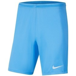 Clothing Boy Shorts / Bermudas Nike JR Park Iii Knit Blue