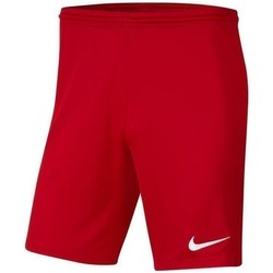 Clothing Boy Shorts / Bermudas Nike JR Park Iii Knit Red