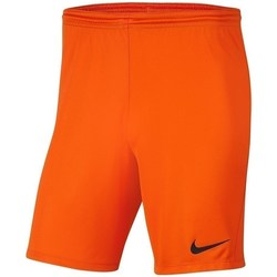 Clothing Boy Shorts / Bermudas Nike Dry Park Iii NB K Orange