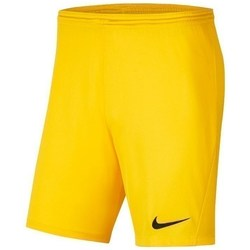 Clothing Boy Shorts / Bermudas Nike JR Park Iii Knit Yellow