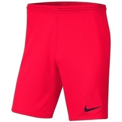 Clothing Boy Shorts / Bermudas Nike JR Park Iii Knit Red