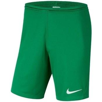 Clothing Boy Shorts / Bermudas Nike JR Park Iii Knit Green