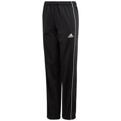 Clothing Children Tracksuit bottoms adidas Originals CORE18 Pes Pnt Y Black