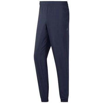 Clothing Men Tracksuit bottoms Reebok Sport TE Wvn C Lined Pant Graphite