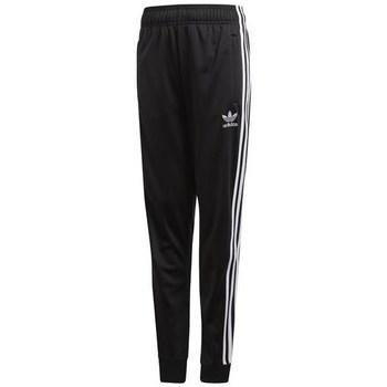 Clothing Children Tracksuit bottoms adidas Originals Sst Trackpant Black