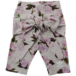 Clothing Women Shorts / Bermudas adidas Originals Floral Grey,Pink