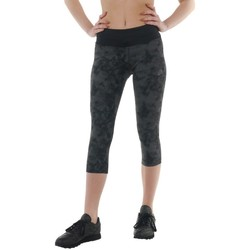 Clothing Women Leggings Asics 34 Fuzex Knee Tight Black