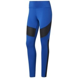 Clothing Women Leggings Reebok Sport Wor Mesh Tight Black, Blue