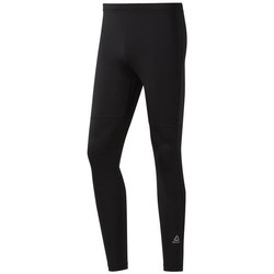 Clothing Men Trousers Reebok Sport RE Speedwick Tight Black