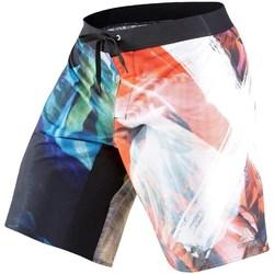 Clothing Men Trunks / Swim shorts Reebok Sport Acid Sublimated Black,Red,Blue