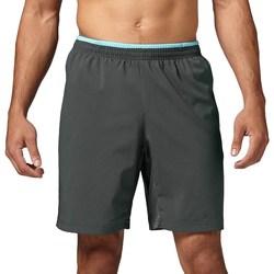 Clothing Men Shorts / Bermudas Reebok Sport Running Essentials 8 Graphite