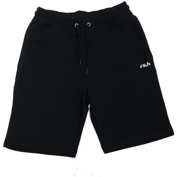 Clothing Men Shorts / Bermudas Fila Eldon Sweat Short Black
