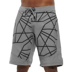 Clothing Men Shorts / Bermudas Reebok Sport Les Mills Board Short Grey