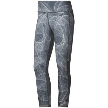 Clothing Women Trousers Reebok Sport Osr 34 Tight P1 Grey