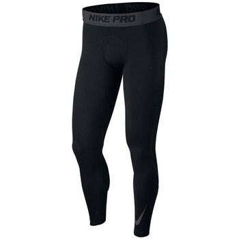 Clothing Men Tracksuit bottoms Nike Pro Warm Terma Black