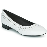 Shoes Women Flat shoes Geox D WISTREY White