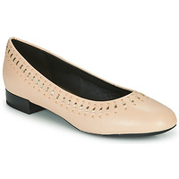 Shoes Women Flat shoes Geox D WISTREY Pink / Gold