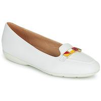 Shoes Women Flat shoes Geox D ANNYTAH White