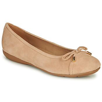 Shoes Women Flat shoes Geox D ANNYTAH Pink