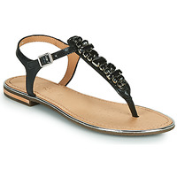 Shoes Women Sandals Geox D SOZY PLUS Black