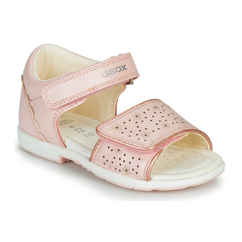 Shoes Girl Sandals Geox B VERRED Pink