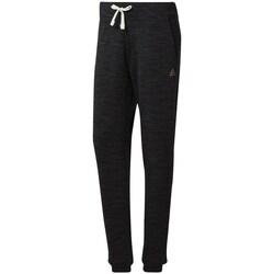 Clothing Women Tracksuit bottoms Reebok Sport TE Marble Pant Graphite,Black