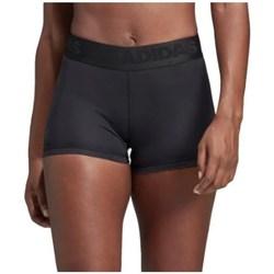 Clothing Women Shorts / Bermudas adidas Originals Alphaskin W Short Black
