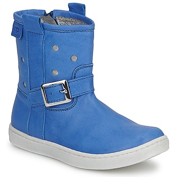 Shoes Girl Mid boots Pinocchio RABIDA Jeans / SILVER
