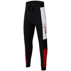 Clothing Boy Tracksuit bottoms Nike JR Air White,Black,Red