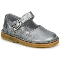 Shoes Girl Flat shoes Pinocchio LIANIGHT Silver