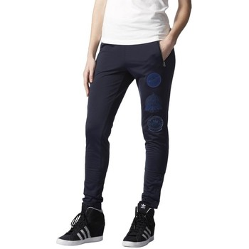 Clothing Women Tracksuit bottoms adidas Originals Originals Rita Ora Cosmic Navy blue