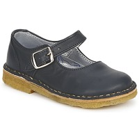 Shoes Girl Flat shoes Pinocchio LIANIGHT Marine